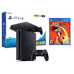 Sony PS4 Slim 1Tb Nera Playstation 4 Pack + Dragon Ball Z: Kakarot