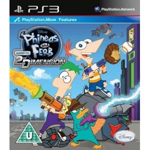 Disney Phineas and Ferb Across the 2nd Dimension (PS3) by Disney
