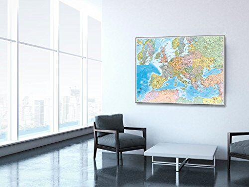 Belletti Europa Politica Pannello Cartografico