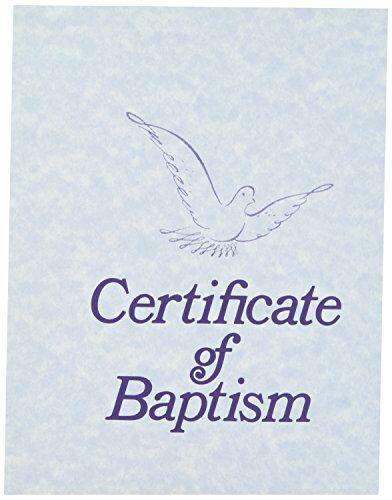 Broadman & Holman certificate-baptism