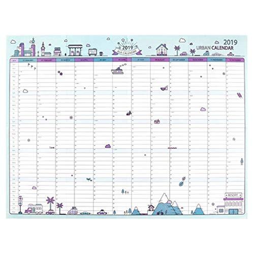 CAIM 365days Wall Paper Calendar Ufficio