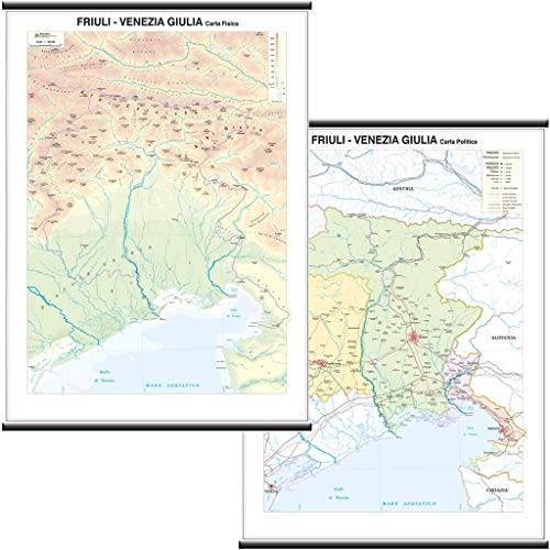 Belletti Friuli Venezia Giulia Carta Regionale