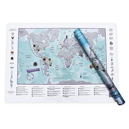 MapsInternational scratch il mondo® per
