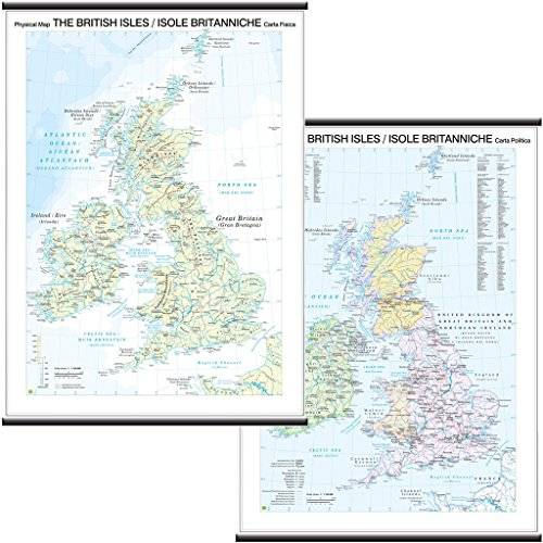 Belletti Isole Britaniche/British Isles Carta