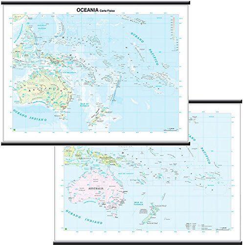 Belletti Oceania Carta Murale Scolastica