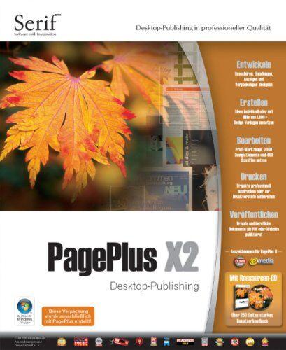 PagePlus X2 Desktop Publishing in