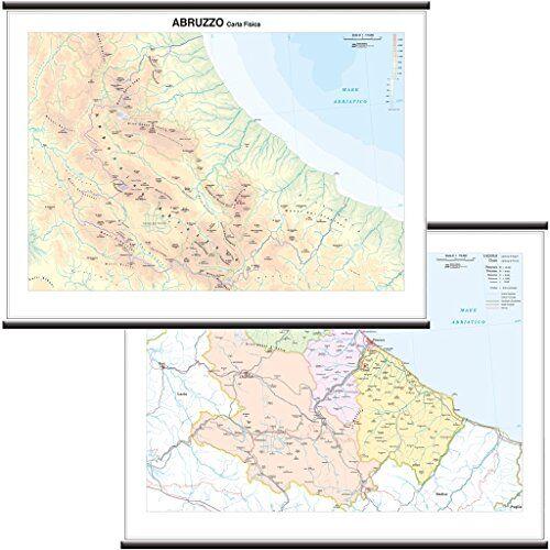 Belletti Abruzzo Carta Regionale Murale