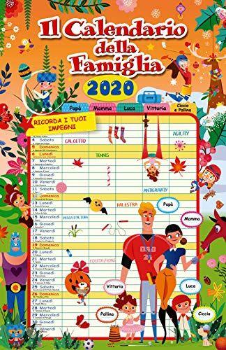 europublishing Calendario Agenda FAMIGLIA 2020