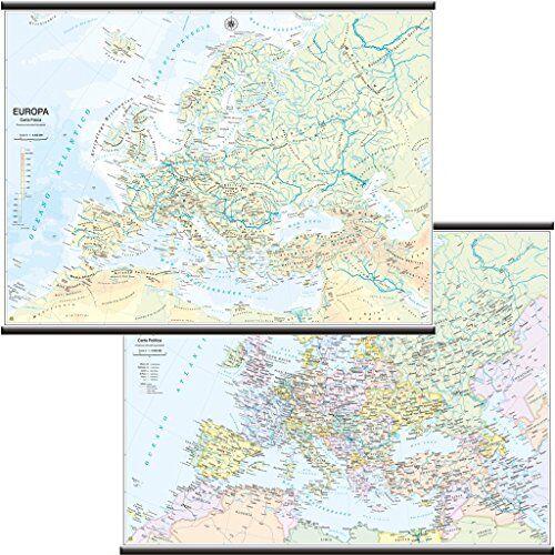 Belletti Europa Carta Murale Scolastica