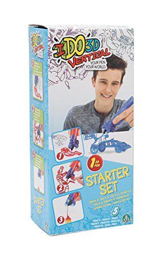 Giochi Preziosi IDO 3D VERTICAL Starter Set con 1 Penna, Disegno e Creazione in 3 Dimensioni, Modelli Assortiti