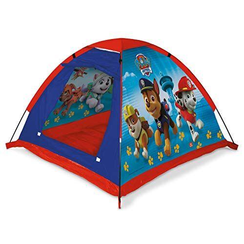 mondo toys - garden tent tenda da giardino paw patrol - casetta dei giochi per interni ed esterni per bambini e bambine - tenda regalo portatile per bambini sacca di trasporto inclusa - 28389