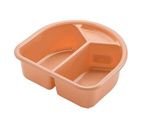 rotho babydesign, vaschetta per bagnetto veloce, color pesca