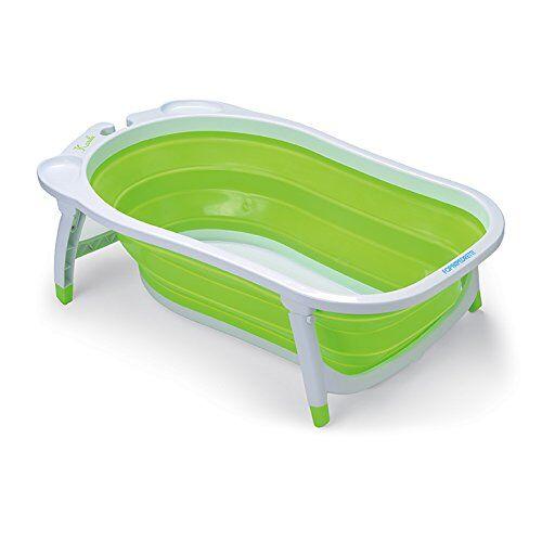 foppapedretti soffietto vaschetta bagnetto per bimbo, verde