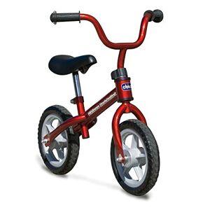 Chicco Red Bullet Bicicletta Bambini Senza Pedali 2-5 Anni, Bici Senza Pedali Balance Bike per l'Equilibrio, con Manubrio e Sellino Regolabili, Max 25 Kg, Rosso, Giochi Bambini 2-5 Anni