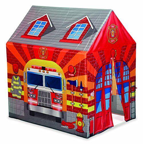 dal negro-dal tenda caserma dei pompieri casetta giardino gioco estivo estate 559, stampa, multicolore, 8001097538010