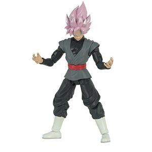 BANDAI- Dragonball Ball Action Figure Dragon Star Super Saiyan rosé Goku Black-35866, 17 cm, 35866J