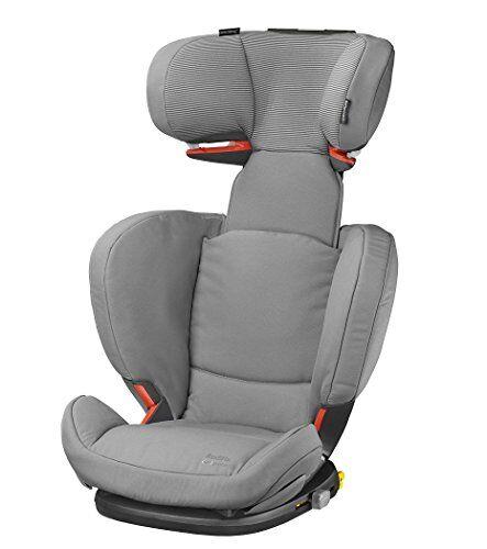 Bb Confort Bébé Confort RodiFix AirProtect Seggiolino Auto 15 36 kg, Gruppo 2/3 per Bambini dai 3.5 ai 12 Anni, Reclinabile, Isofix, Colore Concrete Grey