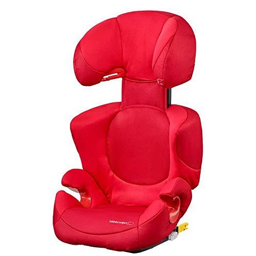 Bb Confort Bébé Confort Rodi XP FIX Seggiolino Auto 15-36 kg, Isofix, Gruppo 2/3 per Bambini dai 3.5 ai 12 Anni, Leggero e Facile da Installare, Colore Poppy Red