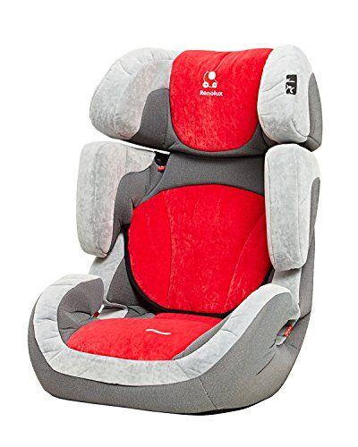Renolux 290073.8 Step - Seggiolino auto, gruppo 2/3, 15-36 kg, colore: Rosso