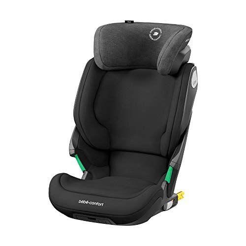 Bébé Confort Kore Seggiolino auto isofix 15-36 kg, per bambini 3.5-12 anni (100-150cm), sicurezza I-Size, protezione laterale SPS plus, colore nero