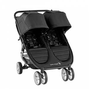 Baby Jogger Passeggino City Mini2 Double - Jet - 14.4 kg