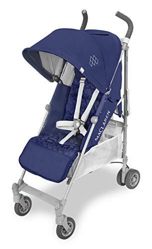 maclaren passeggino quest - super accessoriato, leggero, compatto. newborn safety systemtm, compatibile con la culla portatile maclaren, cappottina estensibile upf 50+/impermeabile, accessori inclusi.