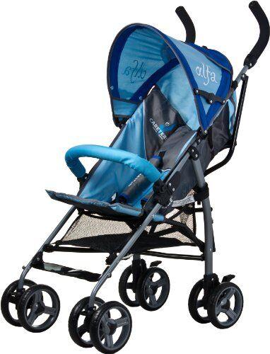 Caretero Alfa passeggino (blu)