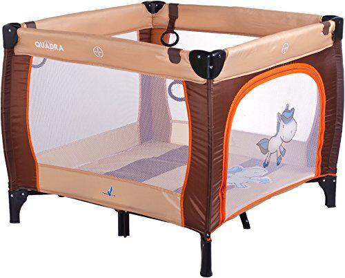 caretero tero-3993 - box, leggero e facile da trasportare, con materasso