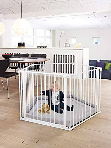 babydan - box per bambini, colore: bianco