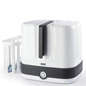 Nuk 10251013 Vario Express Sterilizzatore Elettrico a Vapore per biberon, succhietti ed accessori