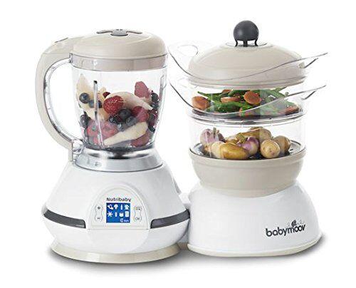 babymoov nutribaby robot da cucina cuocipappa e frullatore