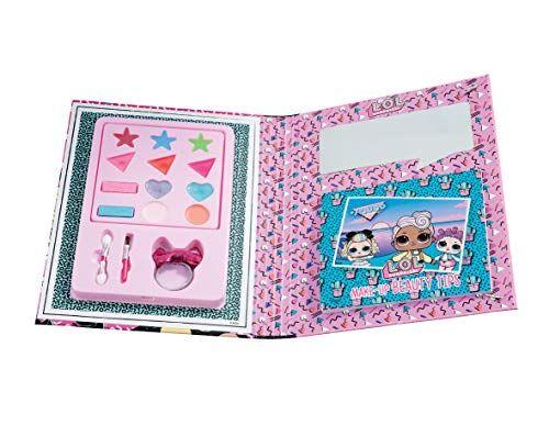 giochi preziosi lol surprise, make up book, diario con sorprese make up