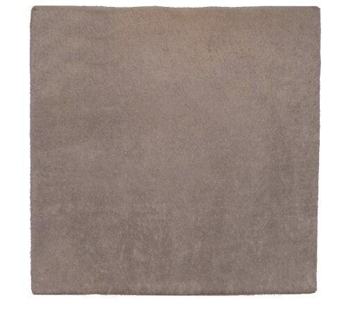 looping - tappeto per box per bambini, in spugna, 95 x 95 cm, grigio, taglia unica