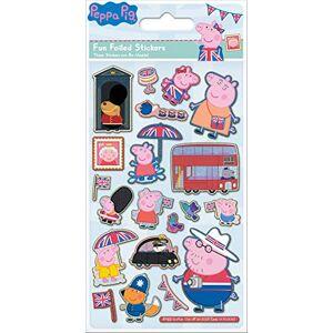 Paper Projects 01.70.06.145 Peppa Pig Glorious Britain - Confezione di adesivi laminati, multicolore