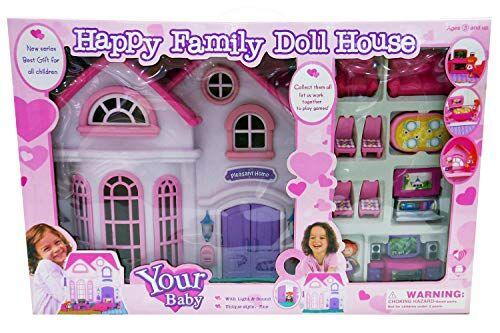 kidz corner- casa delle bambole, multicolore, 438320