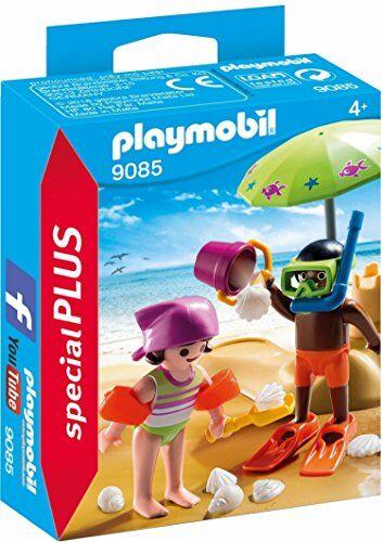 Playmobil Special Plus Giocattolo Bambini in Spiaggia, Multicolore, 9085