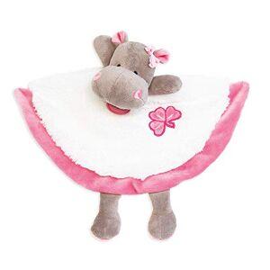 Baby Nat 'Doudou zoé l' ippopotamo rosa