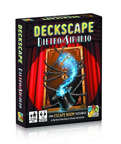 dV Giochi- Deckscape Dietro Il Sipario-Una