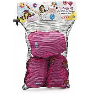 Giochi Preziosi - Soy Luna Kit Protezioni Bambina per Pattini, Taglia M