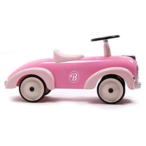 baghera speedster rosa   macchina cavalcabile per bimbi elegante e robusta   auto cavalcabile per bambini a partire da 1 anno d'et   macchina a spinta per i primi passi dei bambini