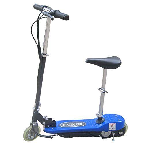 FP-TECH - Monopattino Elettrico con Sedile 24 V 120W E-Scooter Bicicletta ELETTRICA Full Optional