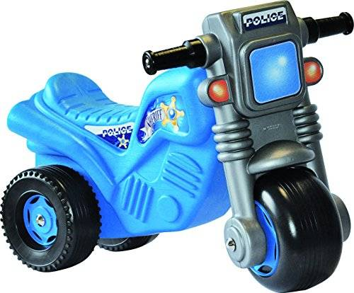 giplam s.r.l- primi passi moto polizia/pompieri 746, multicolore, 892007