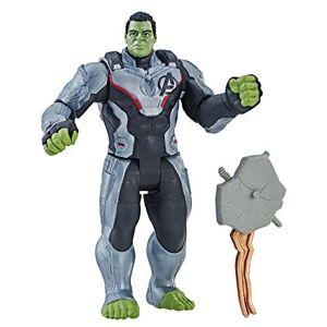 Hasbro Marvel Avengers E3938ES0, Endgame, Hulk con accessorio(Action Figure, 15 cm), Multicolore