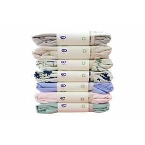 Enetal Natur&Baby und Kind Baby bambini lenzuola 100% cotone biologico GOTS 12ER Pack spannbettt lenzuolo 70x 140cm gewirkt Jersey