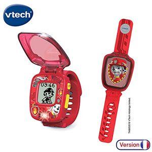VTech- Orologio interattivo di Marcus Paw Patrol-Paw Patrol, Giocattolo elettronico educativo, Multicolore, 80-199565