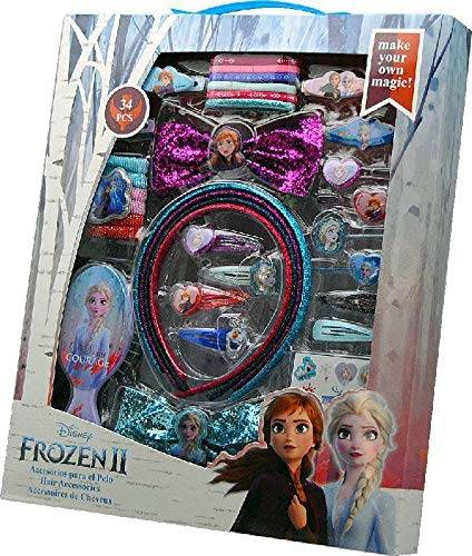 Joy Toy Disney Frozen Set Accessori per Capelli, Multicolore, 20564