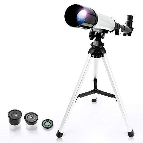 uverbon telescopio rifrattore astronomico zoom hd monoculare spazio telescopio astronomico con telescopio terrestre per bambini, principianti
