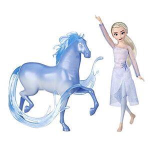 Hasbro Disney Frozen 2 - Fashion Doll Elsa e Nokk, Ispirati al Film Disney Frozen 2