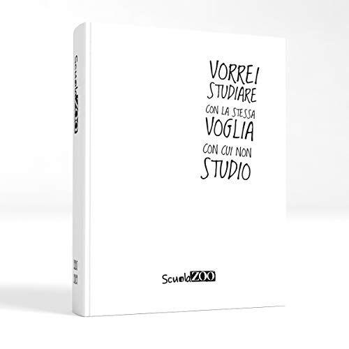 ScuolaZoo Agenda Diario Scolastico 2020-2021 con Meme divertentissimi e Tanti Adesivi, Disponibile in 6 Colori e 2 Dimensioni (Bianco, Giant)