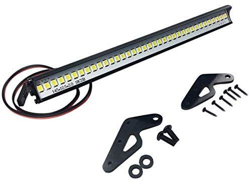 arundel services eu t2 barra luminosa a led per crawler rc luci di guida per 1/10 assiale scx10 ii 90046 90047 traxxas trx4 rock crawler accessori 4 x 4 modelli